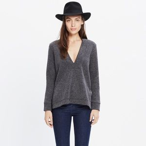 Madewell V pullover top